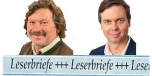 Stellungnahme von Willi Geistanger und Jürgen Leikert zum Leserbrief von Alexander Klammer
